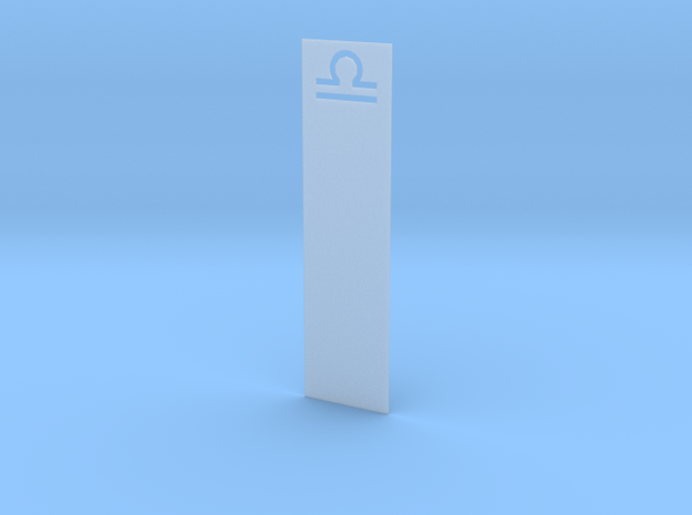 Bookmark in Smooth Fine Detail Plastic