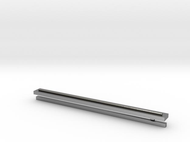 Silver Tie-Clip in Natural Silver: Extra Small