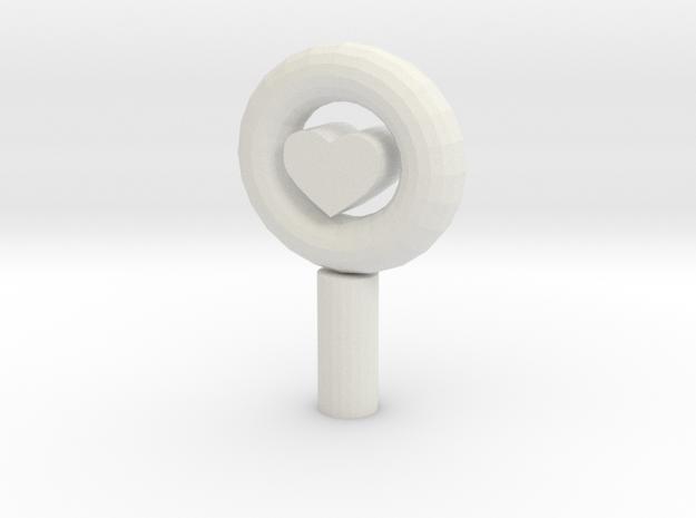106102244phone dust plugs in White Natural Versatile Plastic