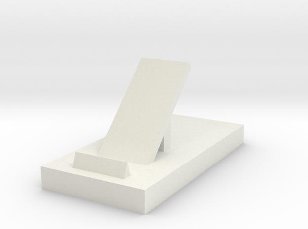 106102244phone stand in White Natural Versatile Plastic