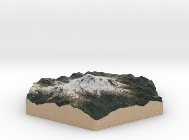 10cm Full-Color Model of Mount Baker
