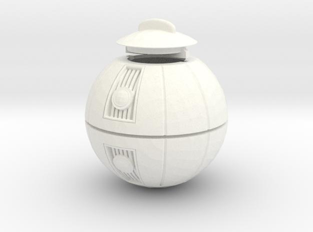 Star Wars - Merr-Sonn Glop  in White Processed Versatile Plastic