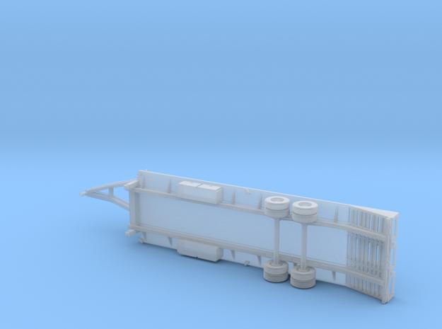 25+5 Gooseneck Equipment Float - 3 Ramp Beavertail in Smoothest Fine Detail Plastic
