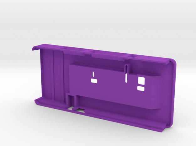 VMX-pi Enclosure (Lid) in Purple Processed Versatile Plastic
