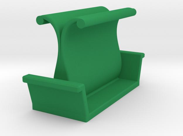 Headphones stand in Green Processed Versatile Plastic