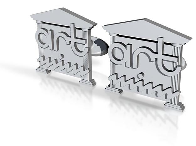Art-Mim cufflinks 3d printed