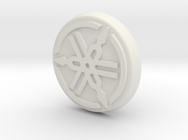 Yamaha Cap in White Natural Versatile Plastic