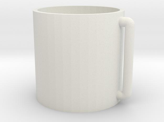 cup5 in White Natural Versatile Plastic