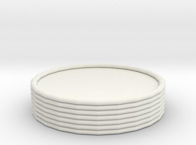 106102226 彩虹手環 in White Strong & Flexible: Small