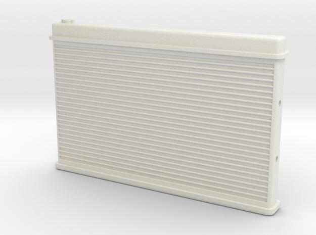 Blazer Radiator - Universal in White Natural Versatile Plastic