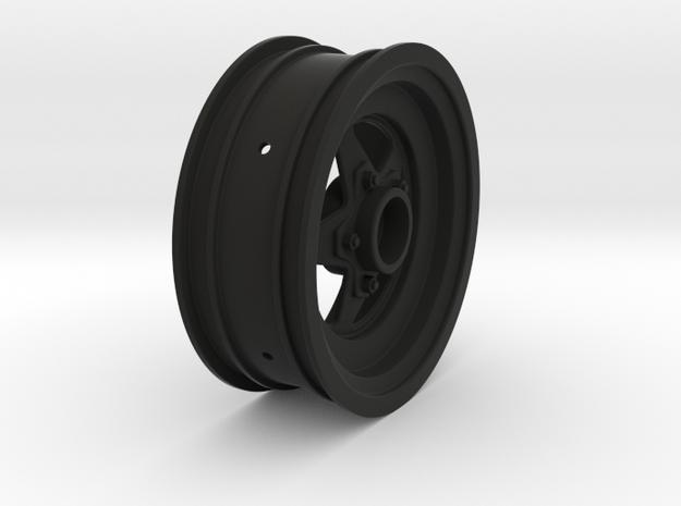 3385 - Startec Slash - Bandit front wheel in Black Natural Versatile Plastic