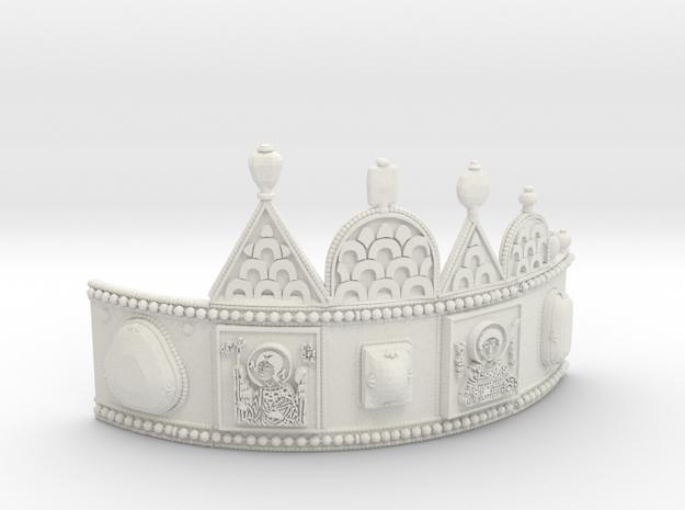 Aranyvonat (Goldentrain) 1938 - Korona M31 Abroncs in White Natural Versatile Plastic