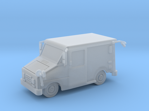 Mail Truck 1-87 HO Scale Filled Windows
