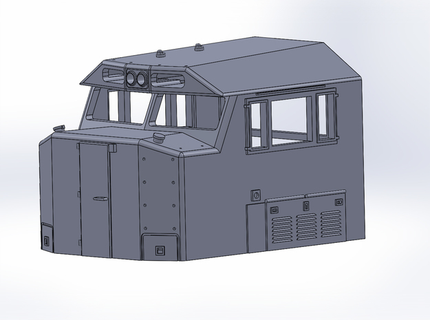 N-scale NS 6920 Crescent Cab