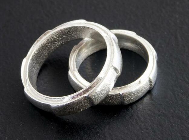 Geared earring. 3d printed