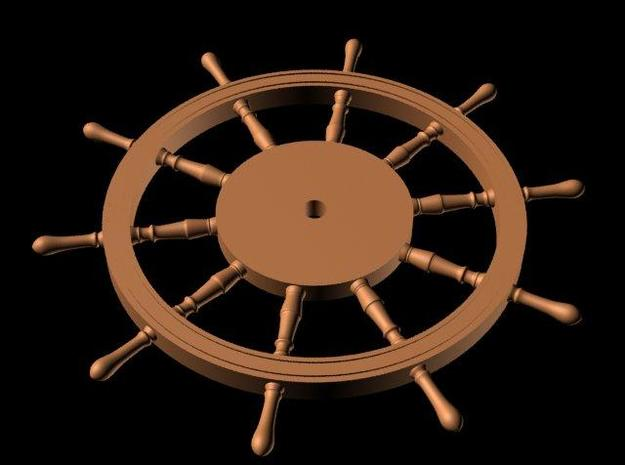 1:78 HMS Victory Ships Wheel in Smooth Fine Detail Plastic