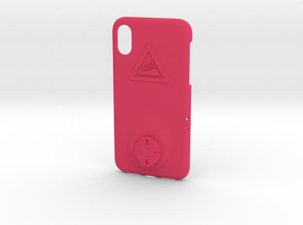 iPhone X Wahoo Mount Case - Hill Climb