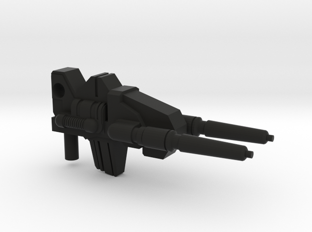 G1 Style Gun for PotP Grimlock in Black Natural Versatile Plastic