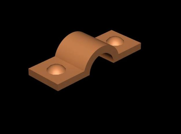 1:78 Trunnion brackets with bolts (220) in Smooth Fine Detail Plastic