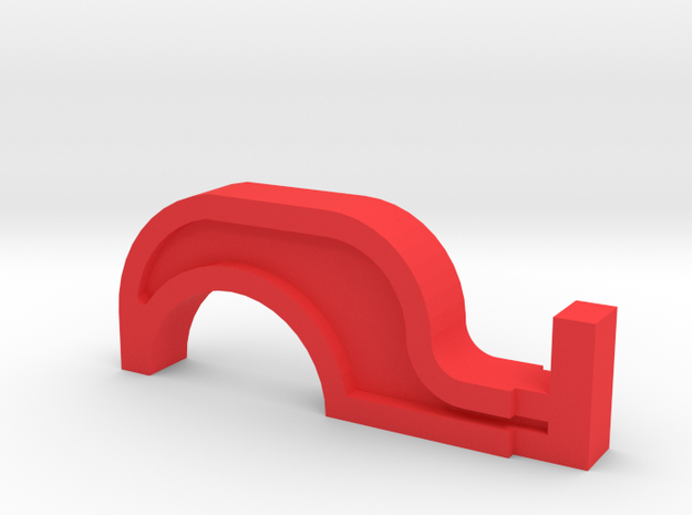Lost in Space Masudaya Robot Claw in Red Processed Versatile Plastic