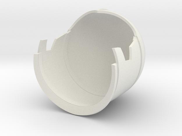 1/6 Sci-Fi Century helmet main in White Natural Versatile Plastic