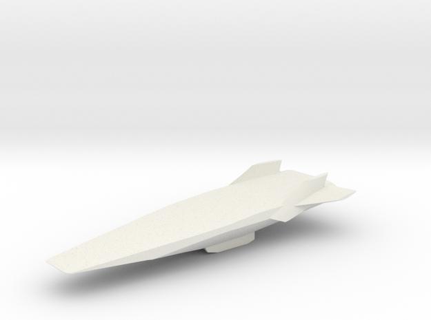 Hyper-X1/5 in White Natural Versatile Plastic