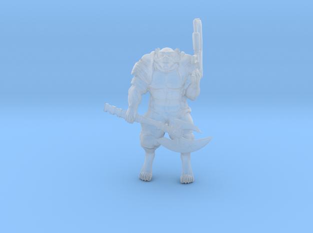 My'tril Soldier w Axe and Slug gun (My'tril - GBF)