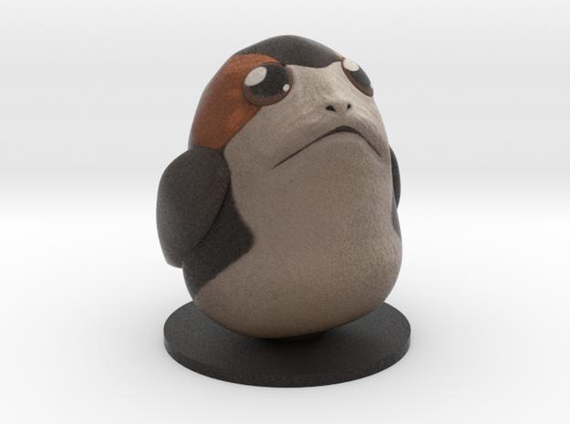Chubby Porg in Full Color Sandstone