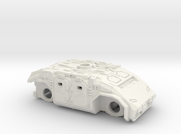 Imperial Federal 4x4 APC 15mm in White Natural Versatile Plastic