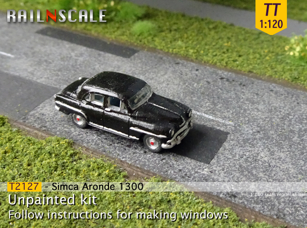 Simca Aronde 1300 (TT 1:120) in Frosted Ultra Detail