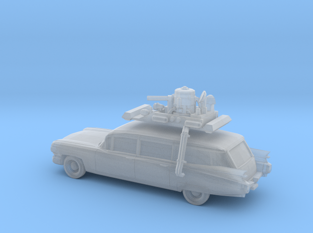 1/220 1959 Cadillac Station Wagon with Roof Rack in Smooth Fine Detail Plastic
