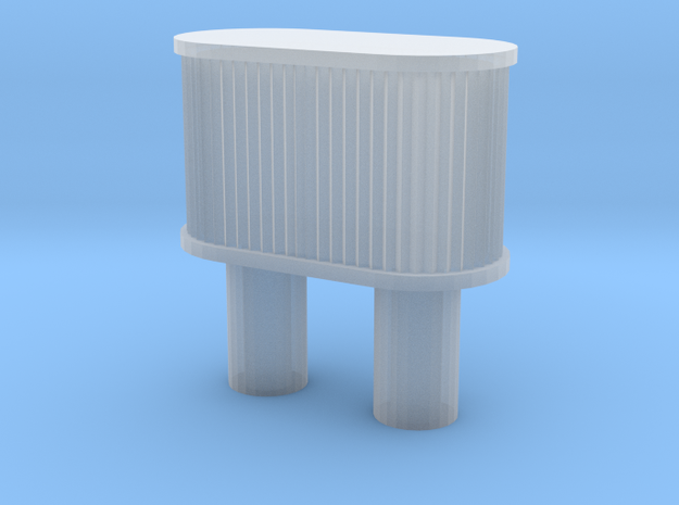 1/24 air filter for cars in Smooth Fine Detail Plastic