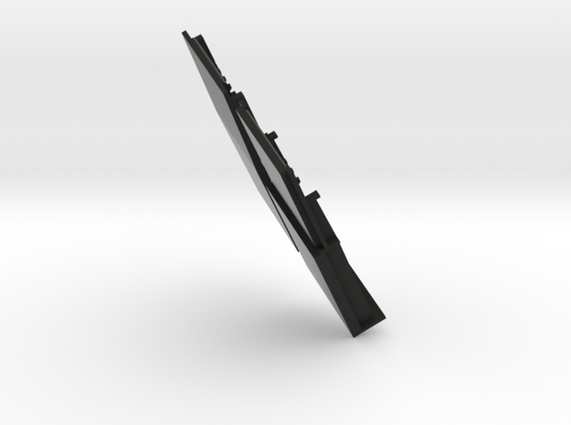 41 module long 2pc mod bottom in Black Natural Versatile Plastic