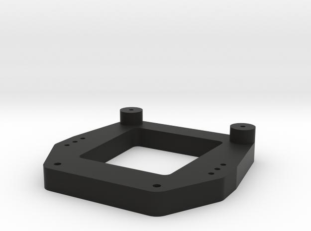 Traxxas Lowering Kit Front Shock Tower in Black Natural Versatile Plastic