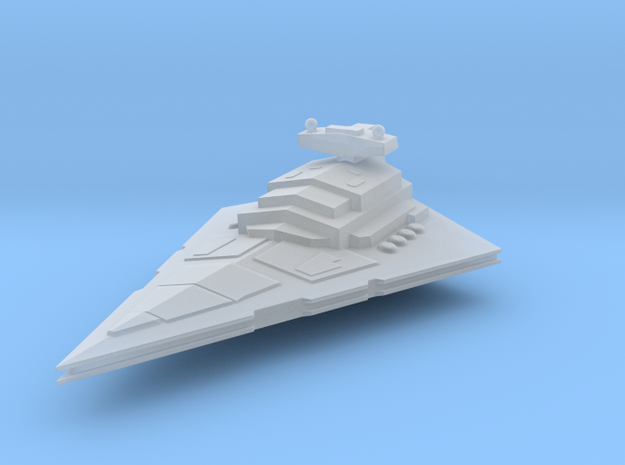7.7 cm Star Destroyer in Smoothest Fine Detail Plastic