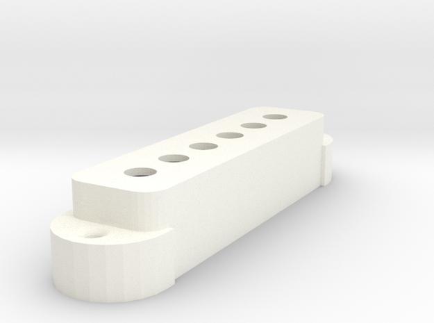 Jagr PU Cover, Single, Classic in White Processed Versatile Plastic