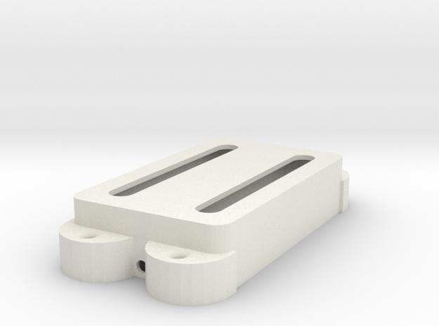 Jag PU Cover, Double, Open in White Premium Versatile Plastic