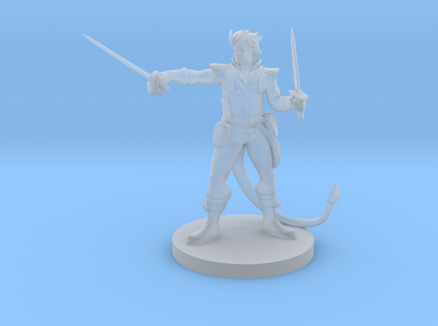 Tiefling Swashbuckler in Frosted Ultra Detail