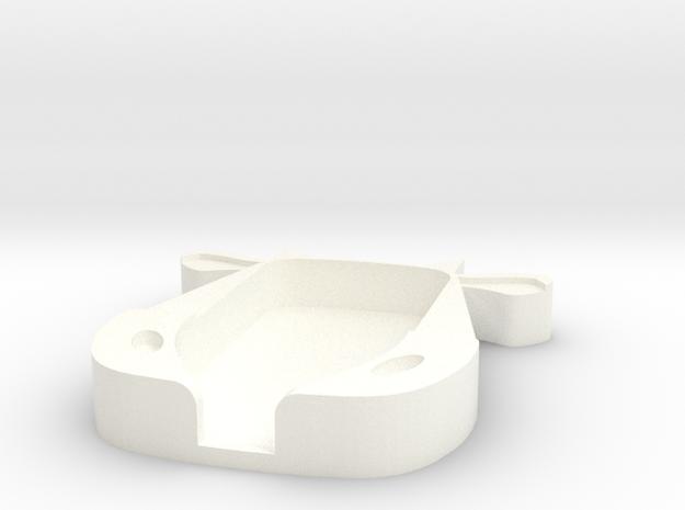 Trezor Cover - Carolina Moo in White Processed Versatile Plastic