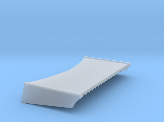 CORVETTE WING in Smooth Fine Detail Plastic