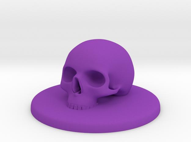 SKULL #105 XL CONTROL COVER  in Purple Processed Versatile Plastic