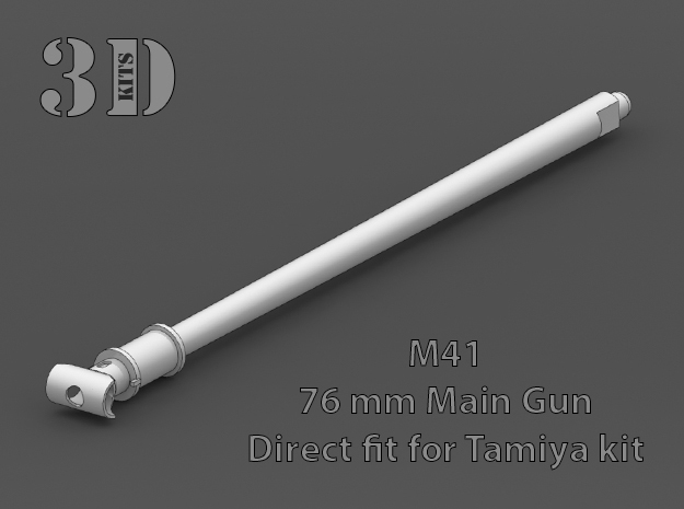 Replacement barrel for Tamiya M41 1/35 scale