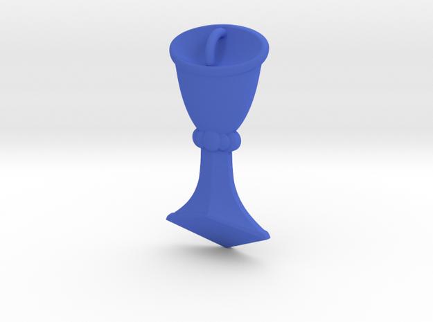 Rider-Waite Cup Pendant in Blue Processed Versatile Plastic