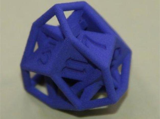 d12 tetartoid in White Natural Versatile Plastic