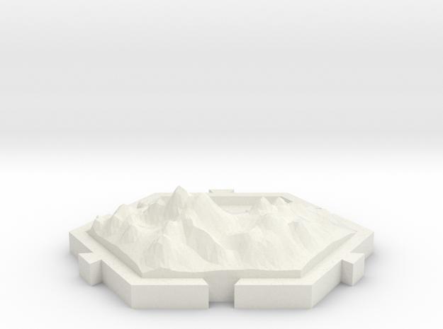 Montañas  in White Strong & Flexible