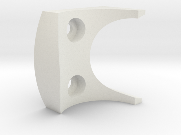 H&R Forearm Spacer in White Natural Versatile Plastic