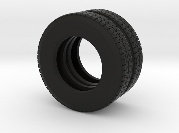 "22.5"" Dual tire pair for trucks and trailers"