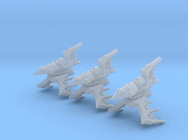 Nightshade Destroyers (3) in Smooth Fine Detail Plastic