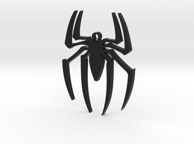 Spider-Man Pendant in Black Premium Versatile Plastic