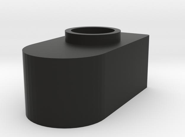Custom Elongated Muzzle for Alien Pulse Rifle in Black Natural Versatile Plastic
